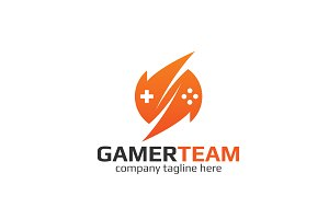 Gamer Team Logo