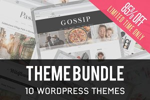 10in1 WordPress Theme Bundle-85% OFF