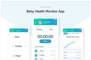 Baby Health Monitoring App Template