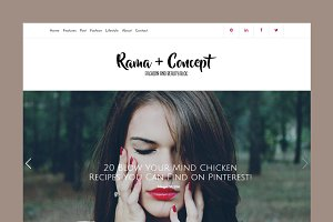 Rama Modern Blog WordPress Theme