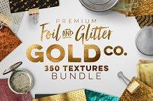 350 Gold & Metallic Textures Bundle