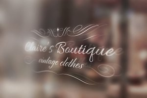 Elegant Fashion Boutique Logo