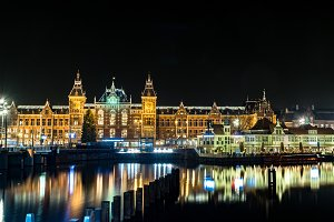 Stunning Amsterdam Night View
