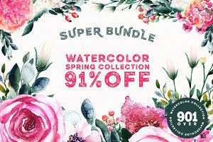 91% OFF Spring Super Bundle