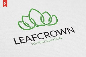 Leaf Crown Logo