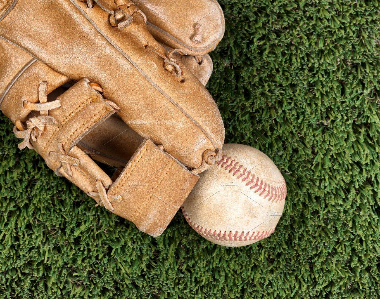 Old baseball glove
