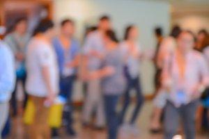 blur People Walking