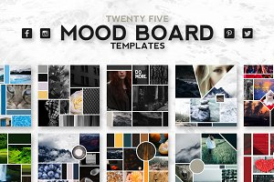 25 Mood Board Templates