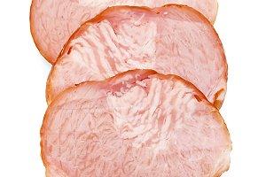 Delicacy pork isolated