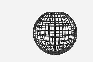 Sphere Wire Bin