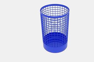 Wireframe Cylinder Bin