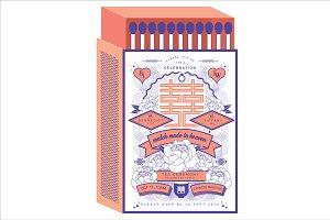 matchbox chinese wedding template
