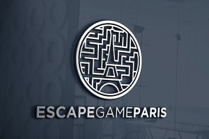Escape Game Paris | Logo Template