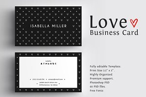 Love Business Card