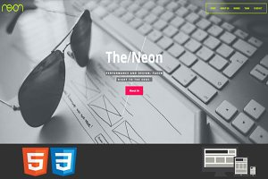 Neon - One Page HTML Template