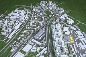 Residential and Industrial UrbanArea