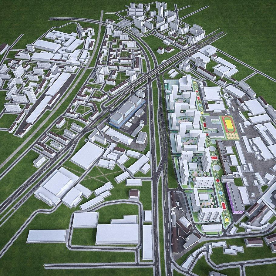 Residential and Industrial UrbanArea
