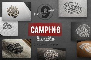 Camping logo kit