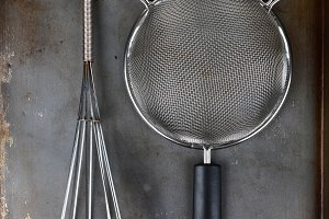 Strainer and Whisk