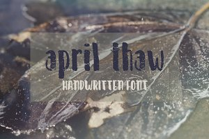 April Thaw Font