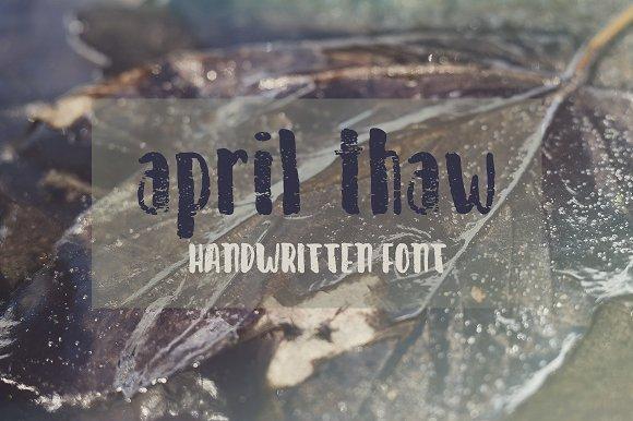 April Thaw Font