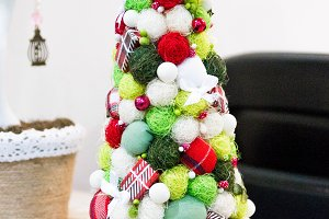 Decorative Christmas tree.. Handmade.
