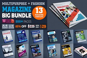 Magazine Bundle_13 Template