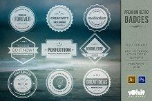 Premium Retro Badges