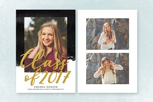 Senior Graduation Announcement 038