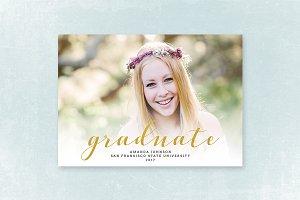 Senior Graduation Announcement 037