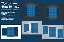 Flyer / Poster Mock-Ups Vol. 4