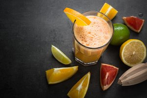 Citrus fresh smoothie