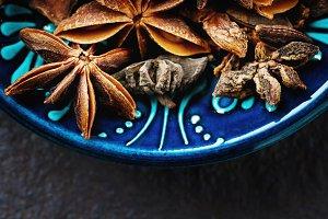 Anise star spice
