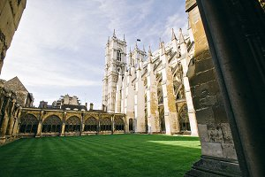 Westminster Abbey Courtyard