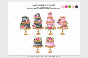 Wedding Cake Clipart Bakery Logo
