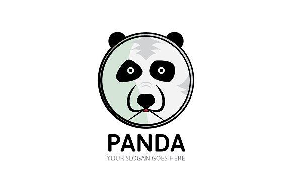 panda bear logo logo templates creative market