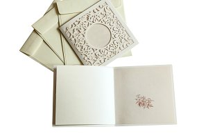 envelopes and postcards invitations for weddings