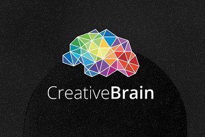 Cretive Brain Logo Template