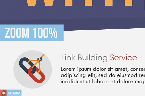 Flat Seo Flyer in Flyer Templates - product preview 2