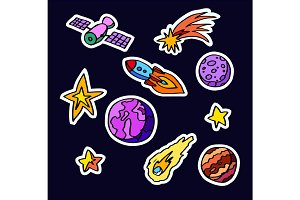 cosmic patches