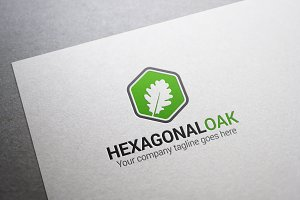 Hexagonal Oak Logo