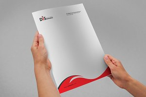 Letterhead Pad with MS Word Files