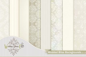 Wedded Bliss Backgrounds