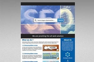Corporate flyer - 3 color-V61