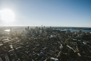 Aerial Photo of Downtown Sydney