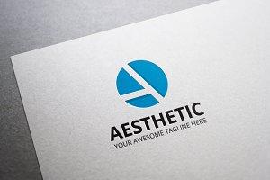 Aesthetic Letter A Logo
