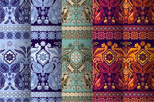 5 Border Indian Patterns