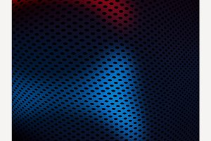 Metall grid texture background.