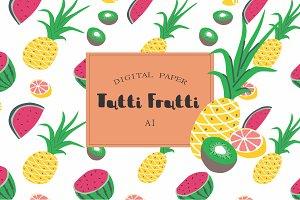Tutti Frutti fruit pattern