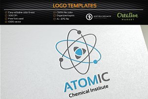 Atomic / Lab - Logo Template